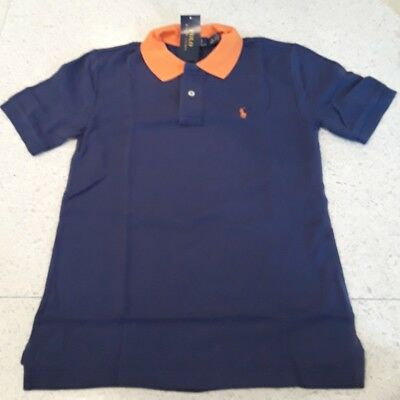 Little Boys Rugby (NWT POLO RALPH LAUREN BOYS COLORBLOCKED LITTLE PONY NAVY RUGBY SHIRT SHORT)