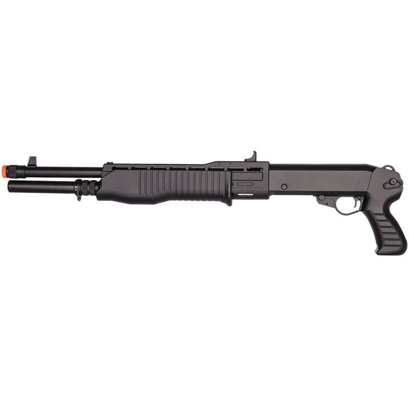 TRI-SHOT SPAS 12 SHOOTS 3 BBs SPRING AIRSOFT PUMP SHOTGUN RIFLE GUN w/ 6mm BB