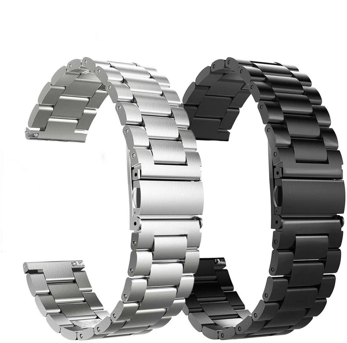 16mm 18mm 20mm 22mm 24mm Watch Band,Premium Stainless Steel