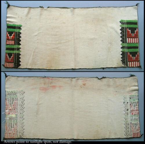 Circa 1940-50's HOPI Embroidered Dance Kilt Katsina / Kachina Ceremonial Regalia