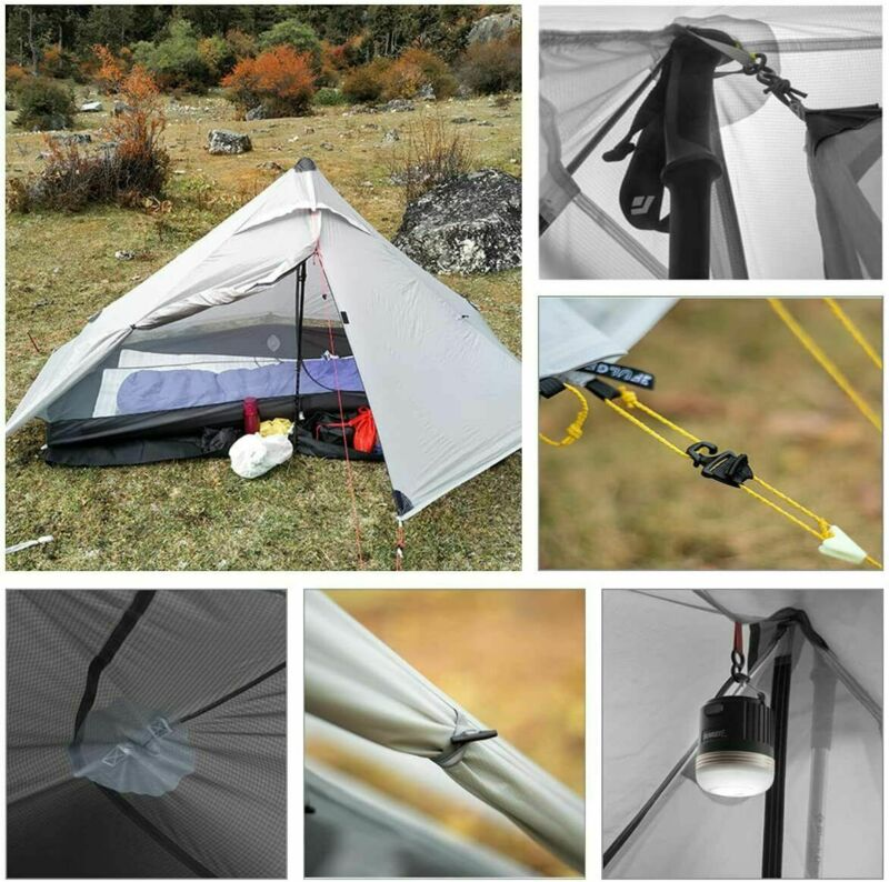 1 ~ 2 Person Ultralight Tent Backpacking Tent Camping Outdoor Camping Shelter
