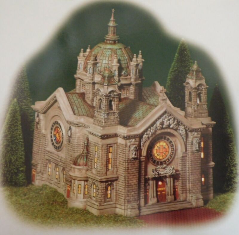 """Dept 56 - Christmas In The City """"CATHEDRAL OF SAINT PAUL"""" - New - 56.58930"""