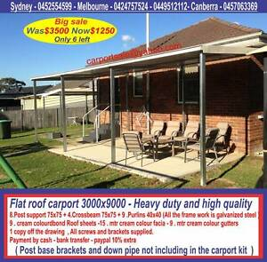 New  carport  3  x  9   $1250  or  3 x  12   $  1640 Ingleburn Campbelltown Area Preview