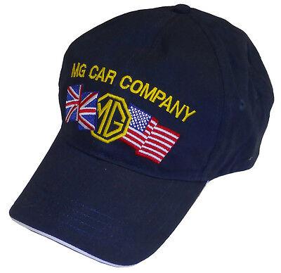 MG - MGB USA - UK embroidered hat