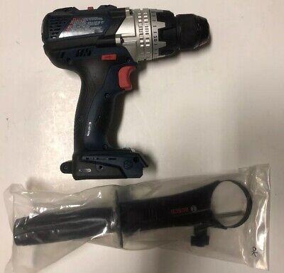 "NEW BOSCH HDH183 18V 18 Volt EC Brushless Brute Tough 1/2"" Hammer Drill / Driver"