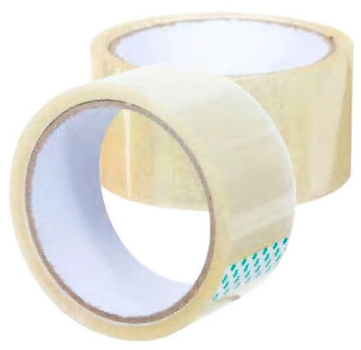 CLEAR Shipping Packing Packaging TAPE 2 ROLLS 1.89