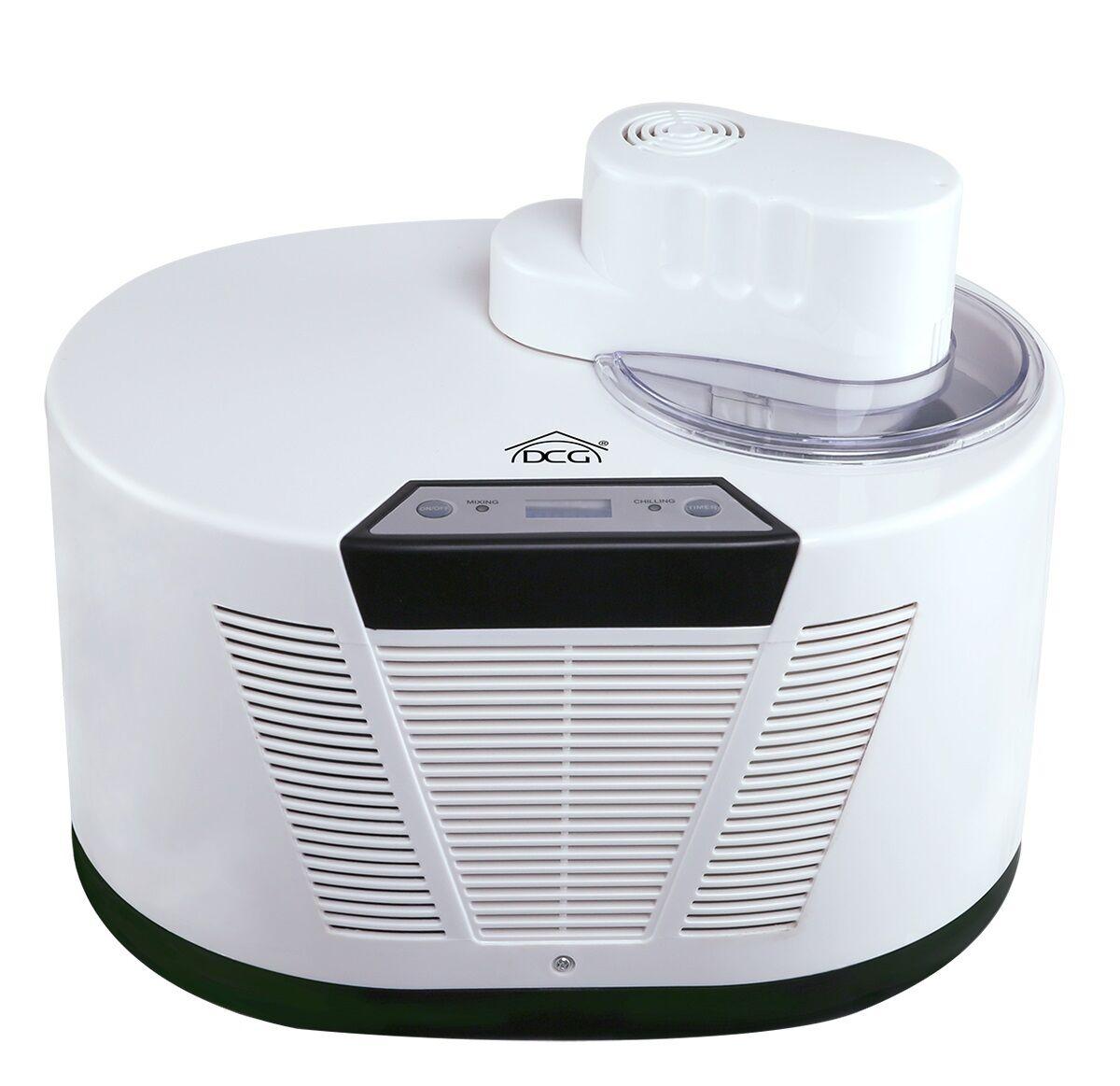 Gelatiera Dcg autorefrigerante ice maker gelataio macchina gelato lC6000 - Rotex
