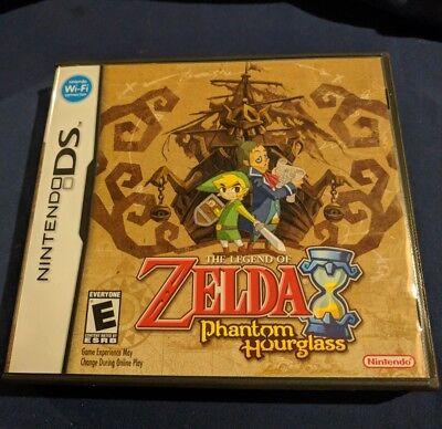 The Legend of Zelda: Phantom Hourglass (Nintendo DS) COMPLETE case, manual, game