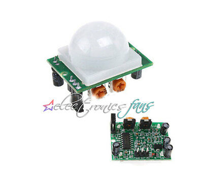 HC-SR501 IR Infrarot Sensor Bewegungsmelder Arduino Pyroelectric PIR Detektor