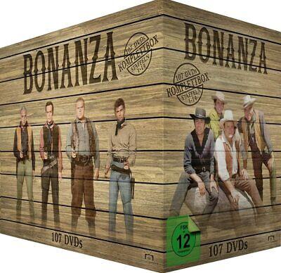 Bonanza Complete Western Series Season 1-14 107 Disc DVD Box Set Region...