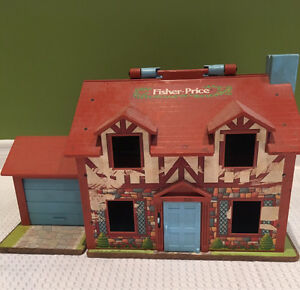 Vintage fisher price Tudor house