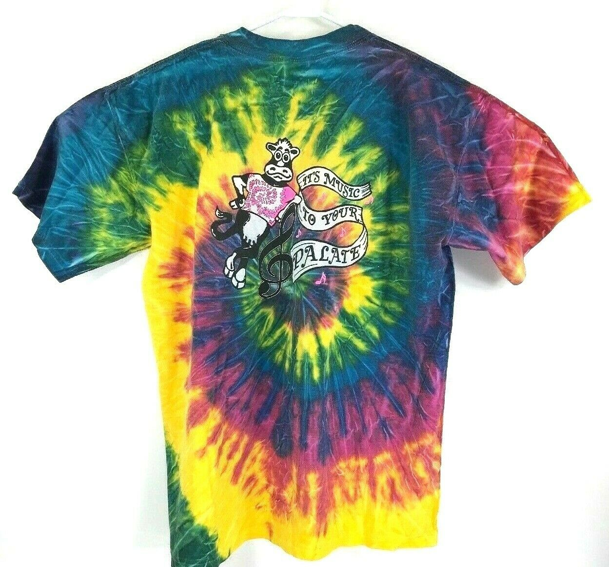Vintage Woodstock Tie Dye T Shirt Sz XL