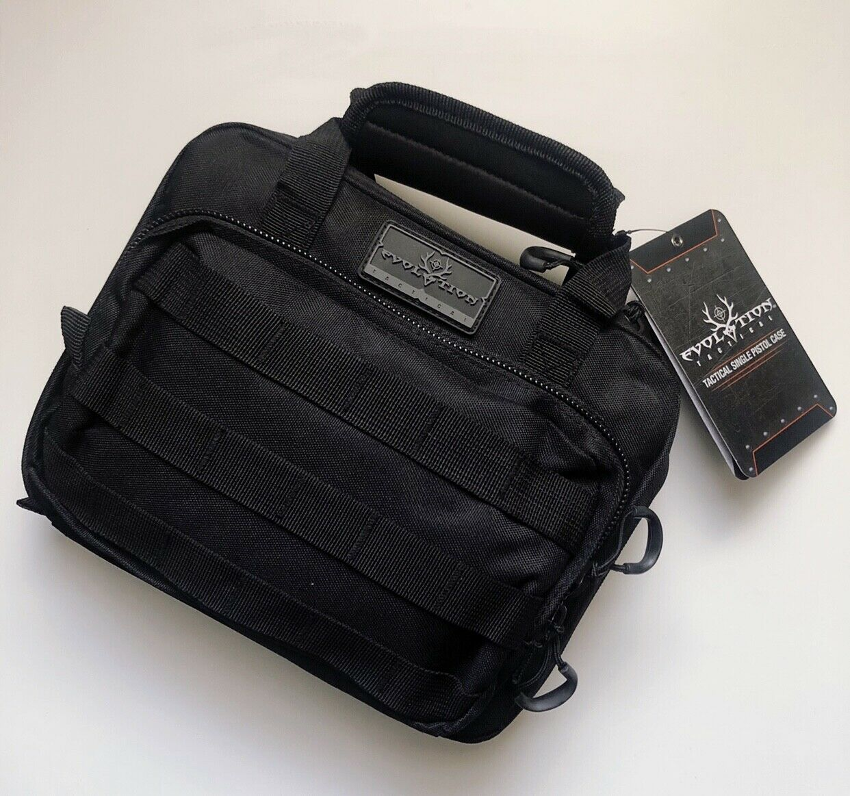 Gun Case Tactical Handgun Case Ammunition Bag Magazine Loop