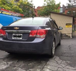 Cruze 2014 blue for sale