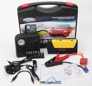 car jump starter with air pump 50800 mAh-Multi-functional Car Starter Green Valley Liverpool Area Preview