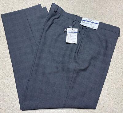 Ralph Lauren Slim Fit Flat Front Slacks Pants Charcoal Gray- Men's Size 36x29