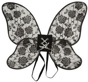 da-donna-nero-paillettes-Burlesque-Gothic-HALLOWEEN-ALI-COSTUME-VESTITO