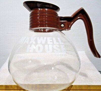 Maxwell House Glass Coffee Server