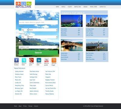 Turnkey Hotelflightcar Booking Website - 100 Autopilot 0.5 - 3 Lead