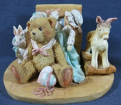 Christopher Old Friends Are The Best Friends Cherished Teddies 950483 Hillman