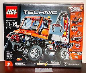 new sealed lego 8110 technic unimog u400 mercedes benz off. Black Bedroom Furniture Sets. Home Design Ideas