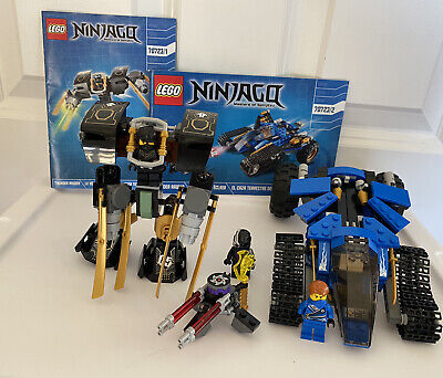 Lego Ninjago Set 70723 Thunder Raider w/Minifigures & Instructions 100% Complete