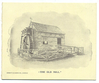 Duluth Imperial Mill Co flour trade card folder