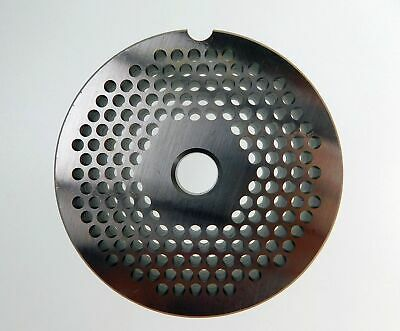 12 X 18 3mm Stainless Meat Grinder Plate For Lem 2 34 Diameter