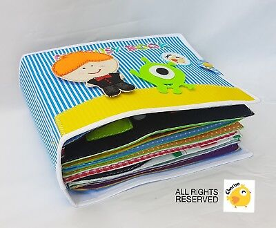 Cheap Baby Books (handmade quiet book felt kids busy sensory Thai quality cheap education)