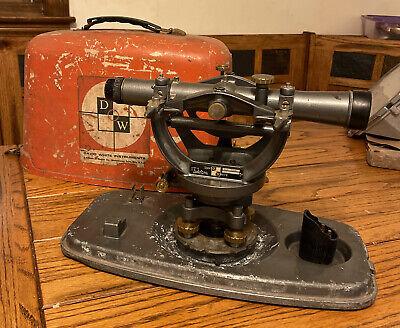 Vintage David White Dw-8300 Surveying Level Transit Instrument W Case