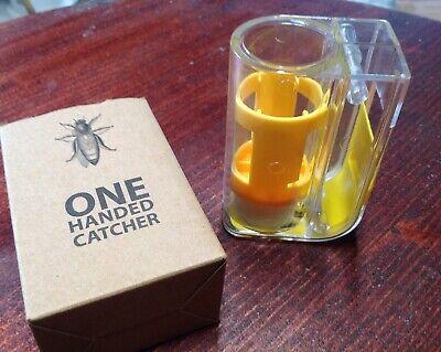 One Handed Queen Bee Catcher Clip Beekeeper Tool Beekeeping Equipment Cage Usa