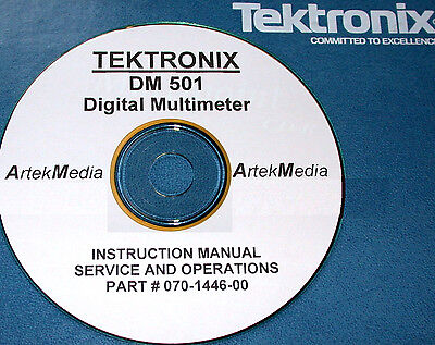 Tek Dm501 Digital Mulitmeter Ops Service Manual