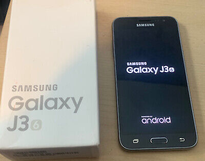Samsung Galaxy J3 (2016) SM-J320FN - 8GB - Black (Unlock) Uk Post Boxed