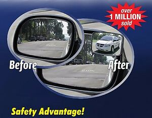Two (2) MAXI VIEW Blind Spot Mirrors - Manufacturer Direct