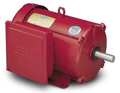 Leeson Electric Motor 140414.00 P215k17fb6h 10 Hp 1740 Rpm 1-ph 230 Volt