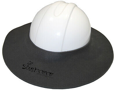 The Original Sunbrero Construction Hard Hat Sun Visor Charcoal Gray