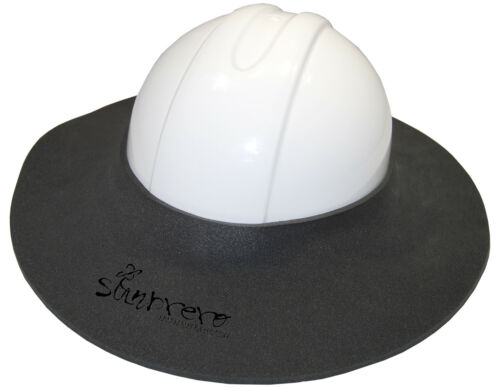 The Original Sunbrero®  Construction Hard Hat Sun Visor  CHARCOAL GRAY