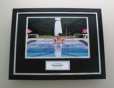 Danny Dyer Signed Photo Framed 16x12 The Business Autograph Memorabilia Display