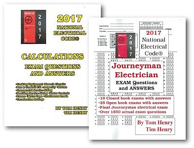 2017 NEC Calculations for Electrical Exam & Journeyman Exam Q & A by Tom Henry