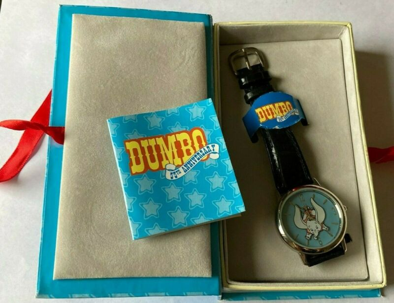Disney Dumbo 55th Anniversary Wrist Watch with Box