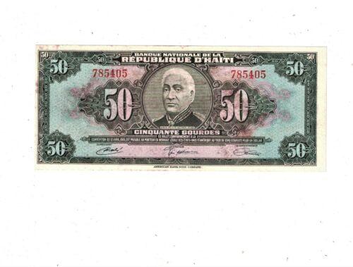 HAITI 50 Gourdes P204 PB1