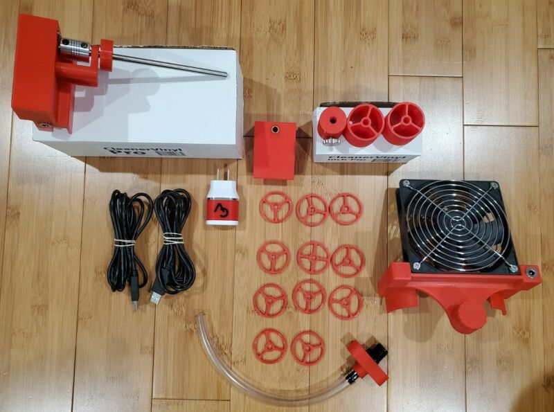CleanerVinyl Pro Collector Kit (Orange color) with Fan