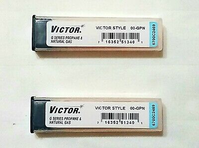 New Victor 00-gpn Cutting Torch Tip Lot Of 2 Propane Lp St2600fc Ca2460