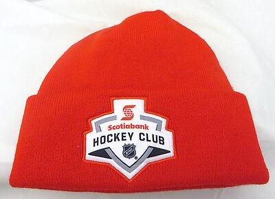 Scotia Bank NHL Hockey club  cap hat beanie red  (Scotia Bank)
