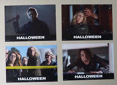 ushangfotosatz 4 Mot. - Jamie Lee Curtis - HORROR (Foto Horror Halloween)