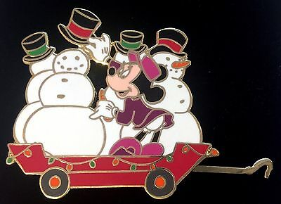 Disney Auctions Pin Fab 5 Christmas Train Minnie Limited Edition 500 New!