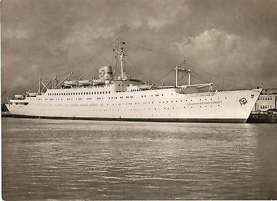 Schiff-FDGB-Urlauberschiff MS Völkerfreundschaft, Foto-Ansichtskarte um 1961