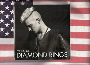 Diamond-Rings-Im-Just-Me-7-45-w-download-code-Promo-CD-lot-of-2