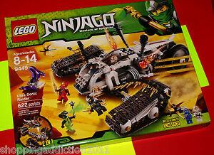 LEGO-Ninjago-Ultra-Sonic-Raider-9449-FREE-SHIPP-U-S