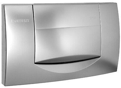 Geberit 200F Drückerplatte in weiß oder mattchrom WC Betätigungsplatte 115222